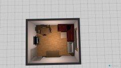 Raumgestaltung Wohnzimmer groß in der Kategorie Wohnzimmer