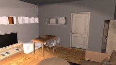 Raumgestaltung Wohnzimmer - Großes Sofa 3 in der Kategorie Wohnzimmer