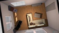 Raumgestaltung Wohnzimmer Haus Variante 1 in der Kategorie Wohnzimmer