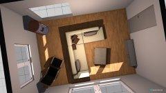 Raumgestaltung Wohnzimmer Haus Variante 2 in der Kategorie Wohnzimmer