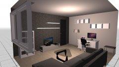 Raumgestaltung Wohnzimmer haus in der Kategorie Wohnzimmer