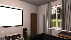 Raumgestaltung Wohnzimmer Heimkino5 in der Kategorie Wohnzimmer