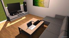 Raumgestaltung Wohnzimmer hinten in der Kategorie Wohnzimmer