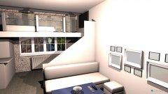 Raumgestaltung wohnzimmer hochbett in der Kategorie Wohnzimmer