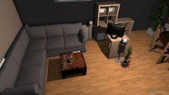 Raumgestaltung Wohnzimmer Idee 01 in der Kategorie Wohnzimmer