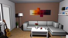 Raumgestaltung Wohnzimmer Idee 2 in der Kategorie Wohnzimmer