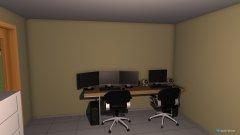 Raumgestaltung Wohnzimmer Idee in der Kategorie Wohnzimmer