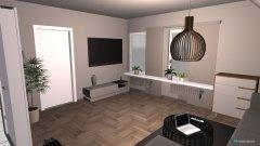 Raumgestaltung Wohnzimmer III in der Kategorie Wohnzimmer