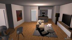 Raumgestaltung Wohnzimmer IZH12 in der Kategorie Wohnzimmer