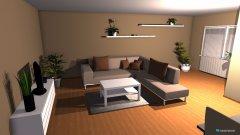 Raumgestaltung wohnzimmer - KaKi in der Kategorie Wohnzimmer