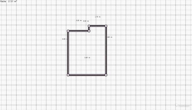 Raumgestaltung Wohnzimmer Kerstins 1. Entwurf in der Kategorie Wohnzimmer