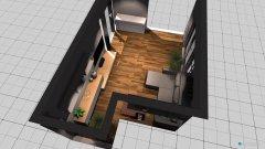 Raumgestaltung Wohnzimmer, klein in der Kategorie Wohnzimmer