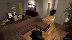 Raumgestaltung Wohnzimmer KlöPla in der Kategorie Wohnzimmer