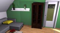 Raumgestaltung Wohnzimmer Köwa V2 in der Kategorie Wohnzimmer