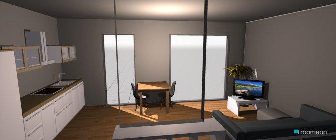 Raumgestaltung Wohnzimmer Kristina in der Kategorie Wohnzimmer