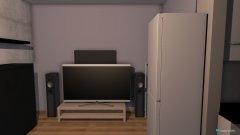 Raumgestaltung Wohnzimmer Küche alte Schränke in der Kategorie Wohnzimmer