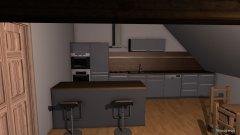 Raumgestaltung Wohnzimmer küche größer in der Kategorie Wohnzimmer