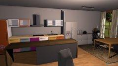 Raumgestaltung Wohnzimmer Küche kurz in der Kategorie Wohnzimmer
