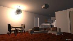 Raumgestaltung Wohnzimmer- Küche2 in der Kategorie Wohnzimmer