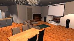 Raumgestaltung Wohnzimmer- Küche3 in der Kategorie Wohnzimmer