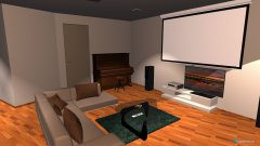 Raumgestaltung Wohnzimmer- Küche5 in der Kategorie Wohnzimmer