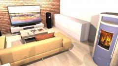Raumgestaltung Wohnzimmer & Küche in der Kategorie Wohnzimmer