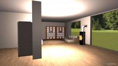 Raumgestaltung wohnzimmer+küche in der Kategorie Wohnzimmer