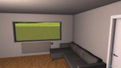 Raumgestaltung Wohnzimmer  Küche in der Kategorie Wohnzimmer