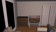 Raumgestaltung Wohnzimmer&Küche in der Kategorie Wohnzimmer