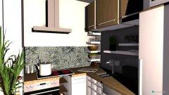 Raumgestaltung Wohnzimmer,Küche in der Kategorie Wohnzimmer