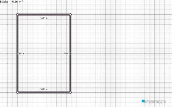 Raumgestaltung Wohnzimmer, Küche in der Kategorie Wohnzimmer