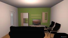 Raumgestaltung Wohnzimmer - kurze Wand in der Kategorie Wohnzimmer