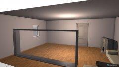 Raumgestaltung Wohnzimmer leer in der Kategorie Wohnzimmer