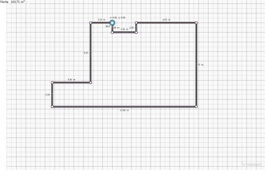 Raumgestaltung Wohnzimmer Leutner 2 in der Kategorie Wohnzimmer