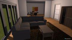 Raumgestaltung Wohnzimmer Liesmann in der Kategorie Wohnzimmer