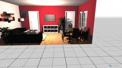 Raumgestaltung Wohnzimmer Marzahn in der Kategorie Wohnzimmer
