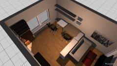 Raumgestaltung Wohnzimmer minimal in der Kategorie Wohnzimmer