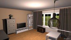 Raumgestaltung Wohnzimmer mit Bauer Möbel in der Kategorie Wohnzimmer