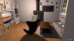 Raumgestaltung Wohnzimmer mit Ei  in der Kategorie Wohnzimmer