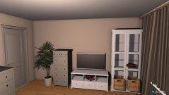 Raumgestaltung Wohnzimmer mit IKEA Möbel in der Kategorie Wohnzimmer