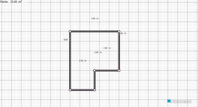 Raumgestaltung Wohnzimmer mit Piano in der Kategorie Wohnzimmer