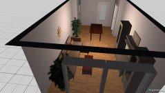 Raumgestaltung Wohnzimmer mit Tischkicker in der Kategorie Wohnzimmer