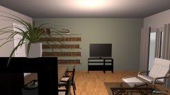 Raumgestaltung Wohnzimmer Möglichkeit 3 in der Kategorie Wohnzimmer