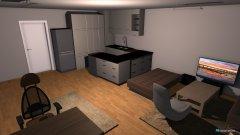 Raumgestaltung Wohnzimmer neu Küche ohne Wand in der Kategorie Wohnzimmer