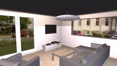 Raumgestaltung Wohnzimmer Neubau in der Kategorie Wohnzimmer