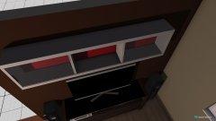 Raumgestaltung Wohnzimmer - offene Küche in der Kategorie Wohnzimmer
