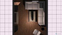 Raumgestaltung Wohnzimmer ohne Essecke in der Kategorie Wohnzimmer