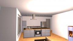 Raumgestaltung Wohnzimmer ohne Wintergarten in der Kategorie Wohnzimmer