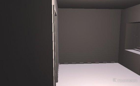 Raumgestaltung Wohnzimmer ohne Zwischenwand in der Kategorie Wohnzimmer