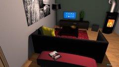 Raumgestaltung Wohnzimmer Papa in der Kategorie Wohnzimmer